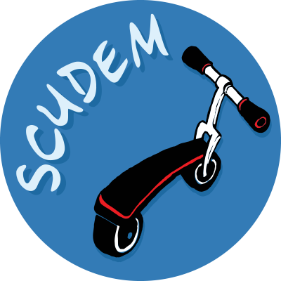 SCUDEM logo